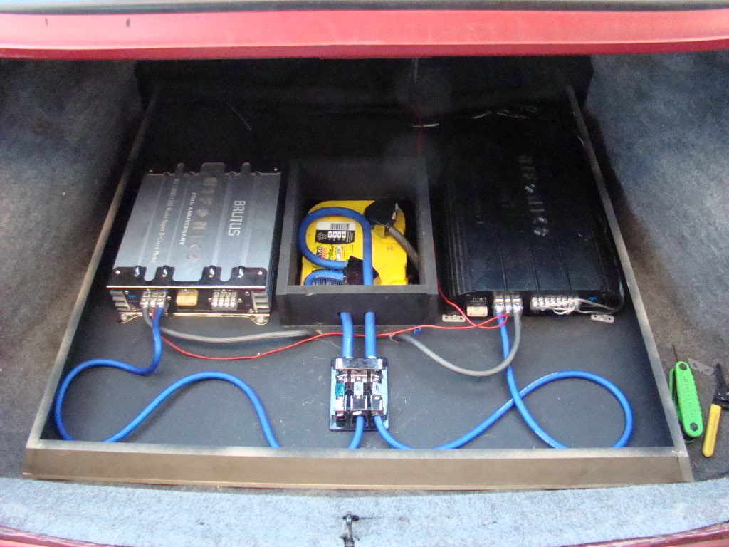 1200w 4ohm Subwoofer L7 S10l7 Mono Class D Amp Wiring Kit Ebay