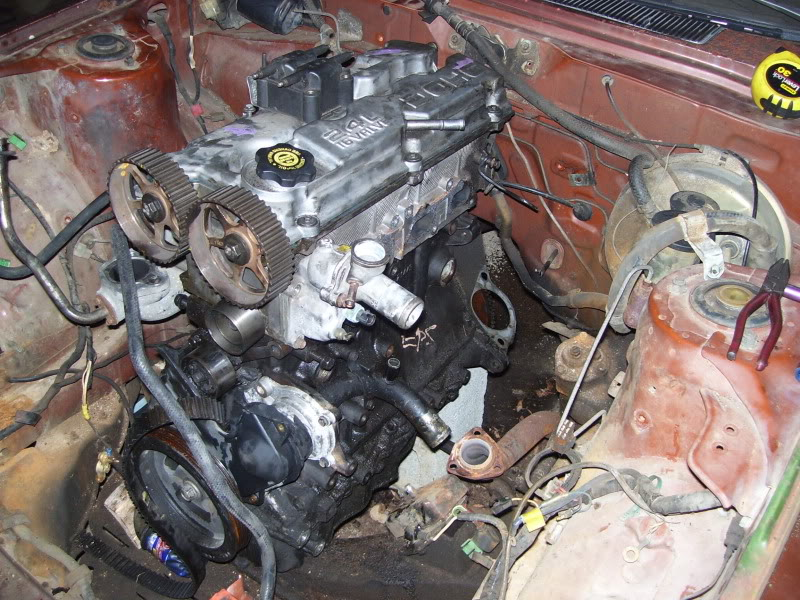 77 celica project,2 4L RWD swap(mods,move this please