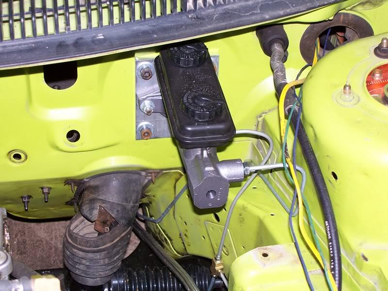 Power Brake Booster eliminator plate - neons org