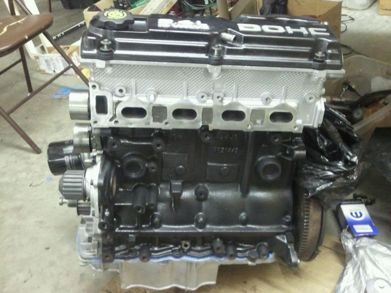 My 77 Celica liftback project, 2 4L Dodge engine swap